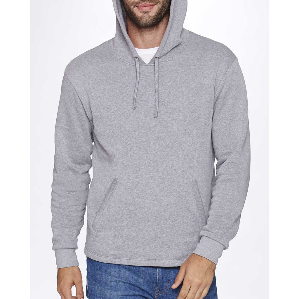 Next Level Unisex Heather Gray PCH Pullover Hoodie