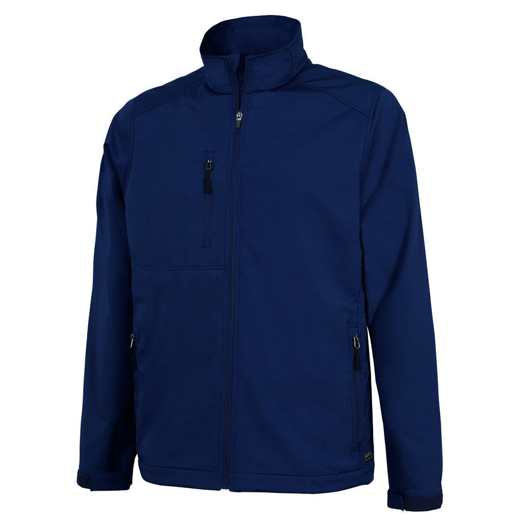 Charles River Men's Navy Axis Soft Shell Jacket