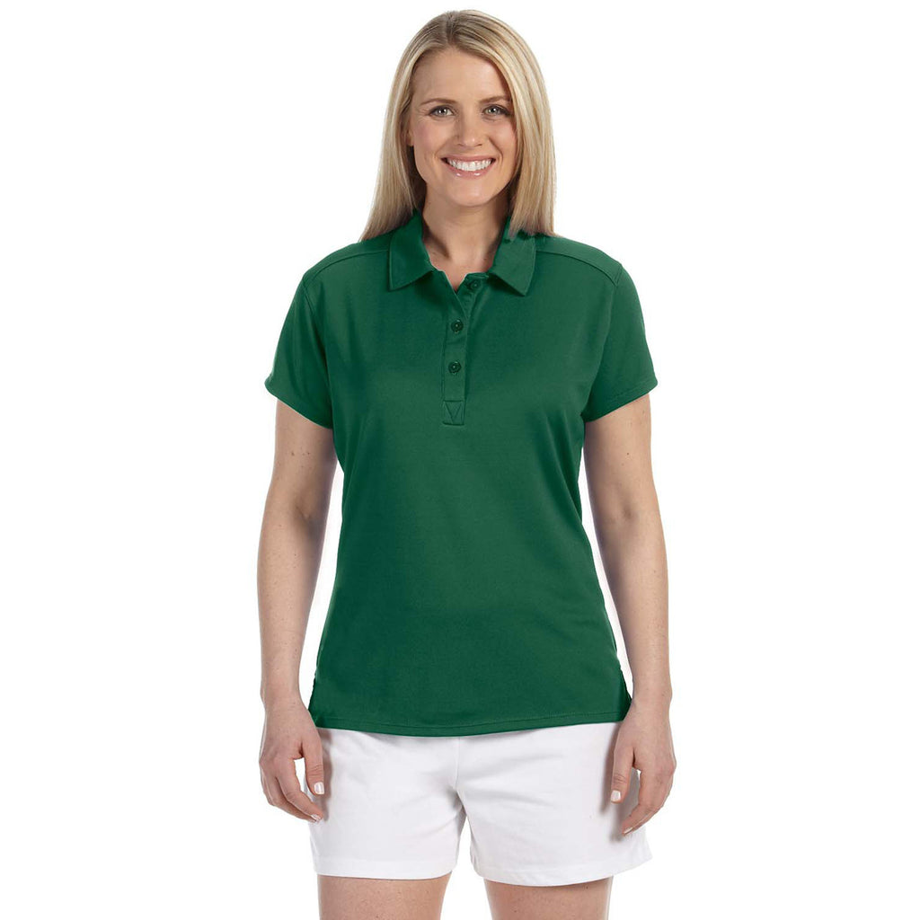 Russell Athletic Women s Dark Green Team Essential Polo fcd3695d6d
