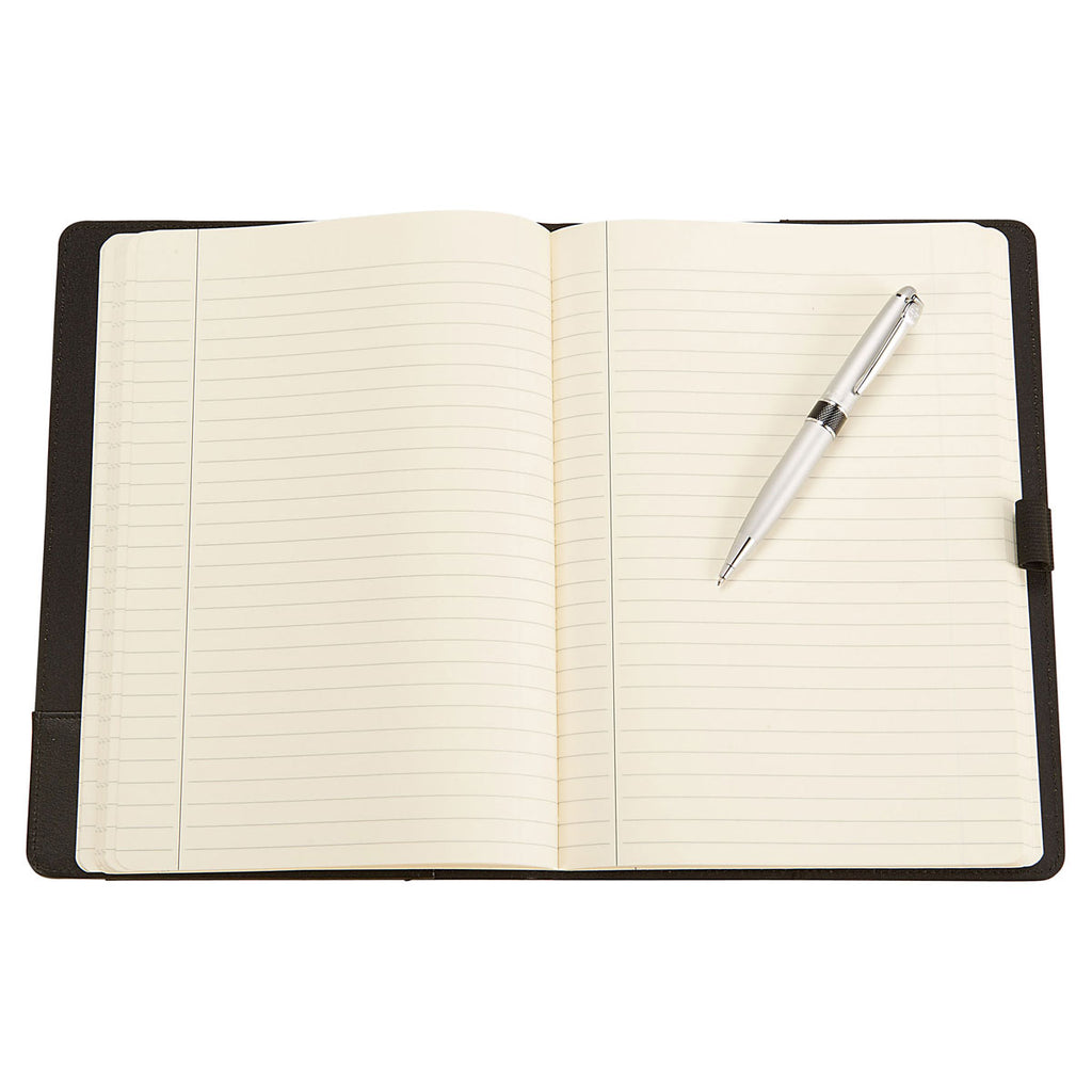 Wenger Black Executive Refillable Notebook