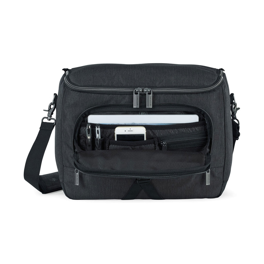 Samsonite Charcoal Heather Charcoal Modern Utility Computer Messenger Bag