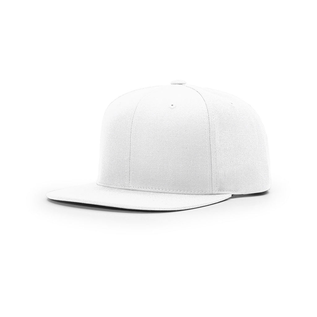 aede292bf74 Richardson White Street Solid 6 Panel Wool Snapback Cap