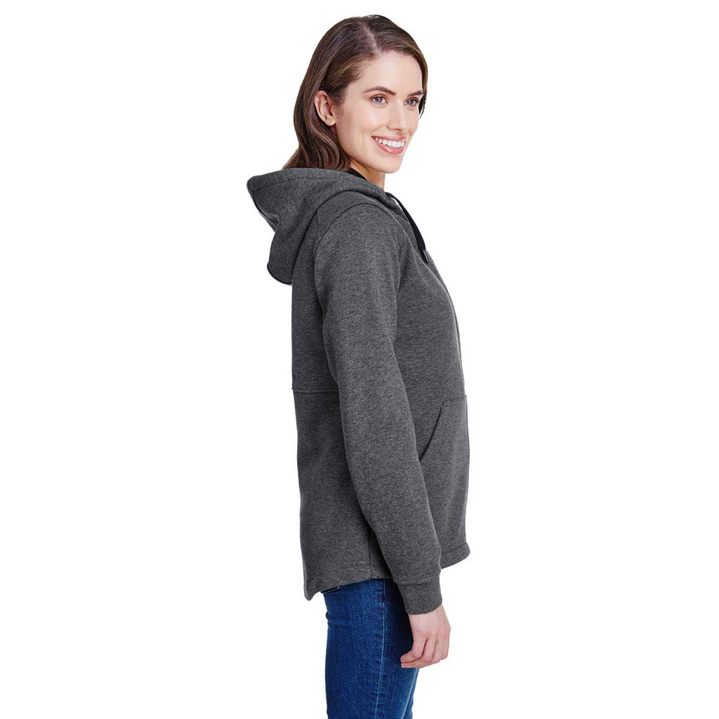 Dri Duck Women's Dark Oxford Parker Fleece Jacket