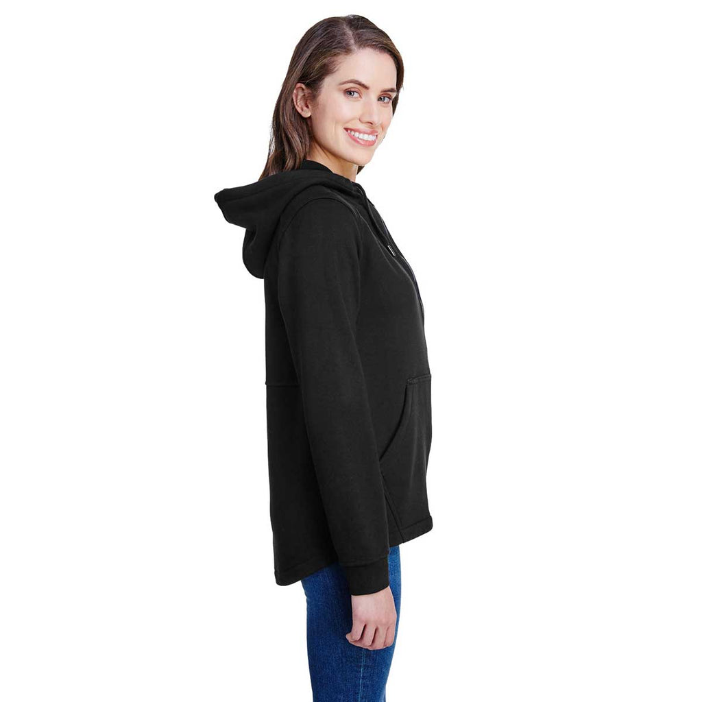 Dri Duck Women's Black Parker Fleece Jacket