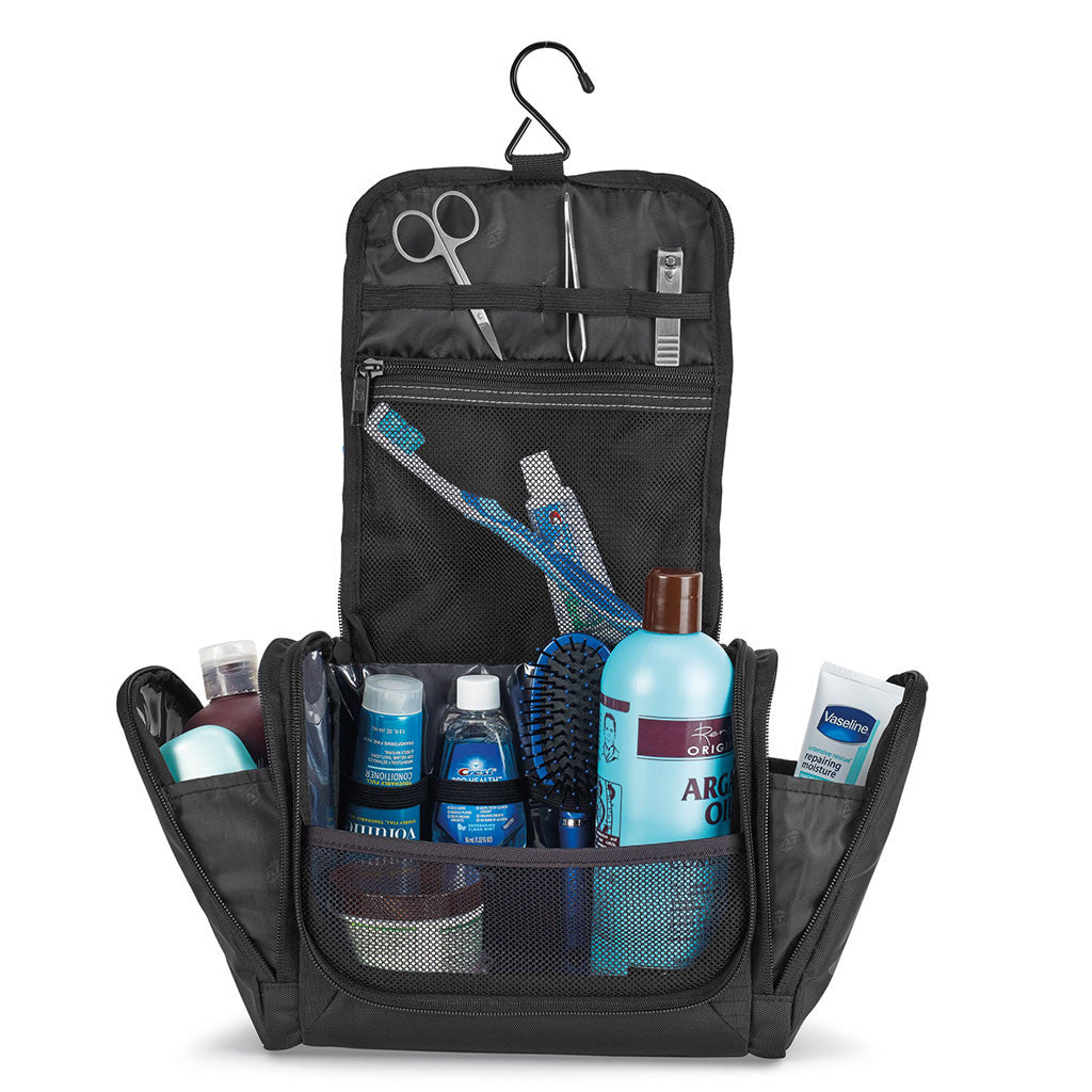 American Tourister Black Voyager Amenity Case