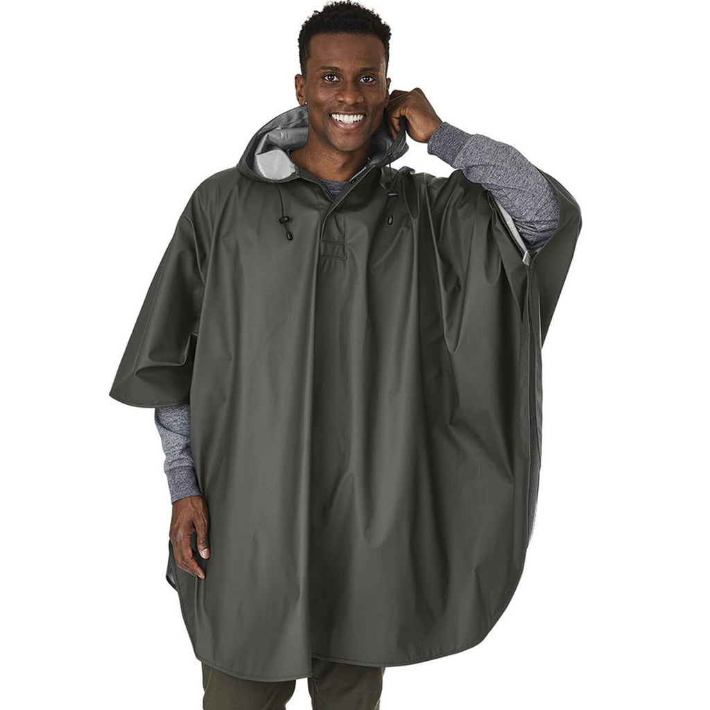 Charles River Men's Grey Pacific Poncho