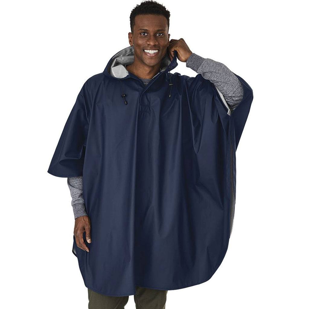 Charles River Men's Navy Pacific Poncho