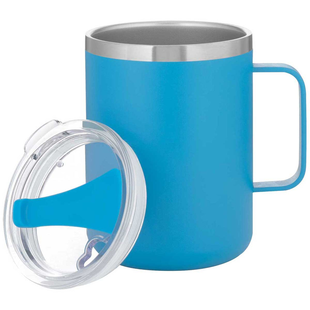 ETS Matte Aqua Camper 16.9 oz Stainless Steel Thermal Mug