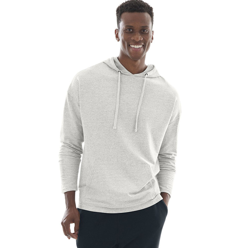Charles River Men's Ivory Heather Harbor Hoodie