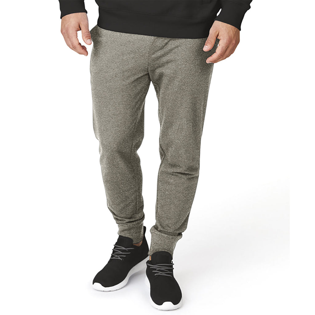 Charles River Men's Pewter Heather Adventure Joggers