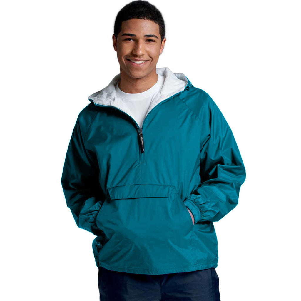Charles River Unisex Adult Marine Blue Classic Solid Pullover
