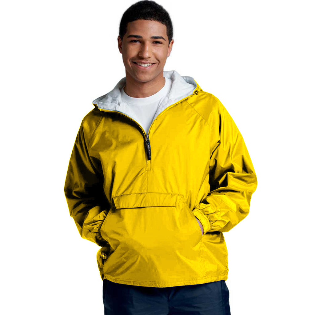 Charles River Unisex Adult Yellow Classic Solid Pullover