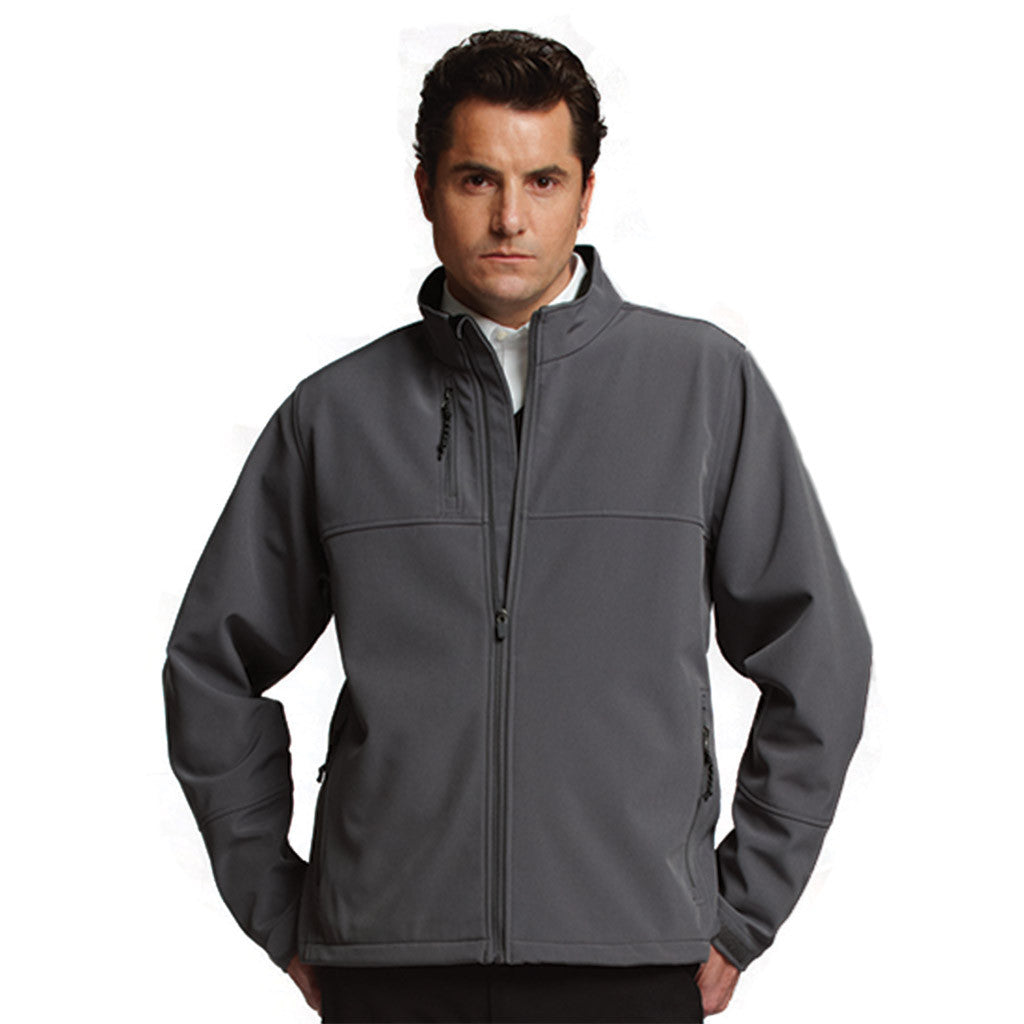 Charles River Men's Pewter Ultima Soft Shell Jacket