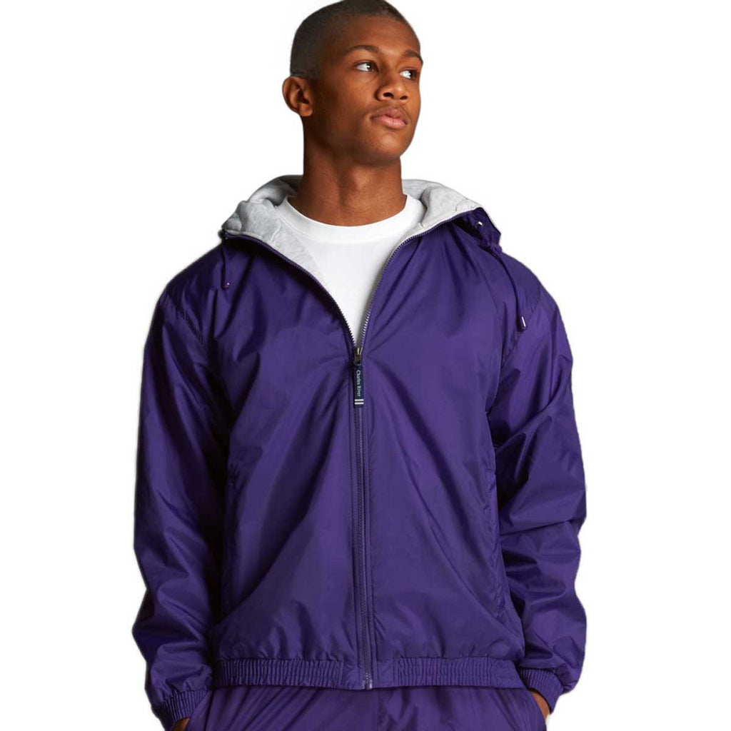 Charles River Men's Purple Performer Jacket