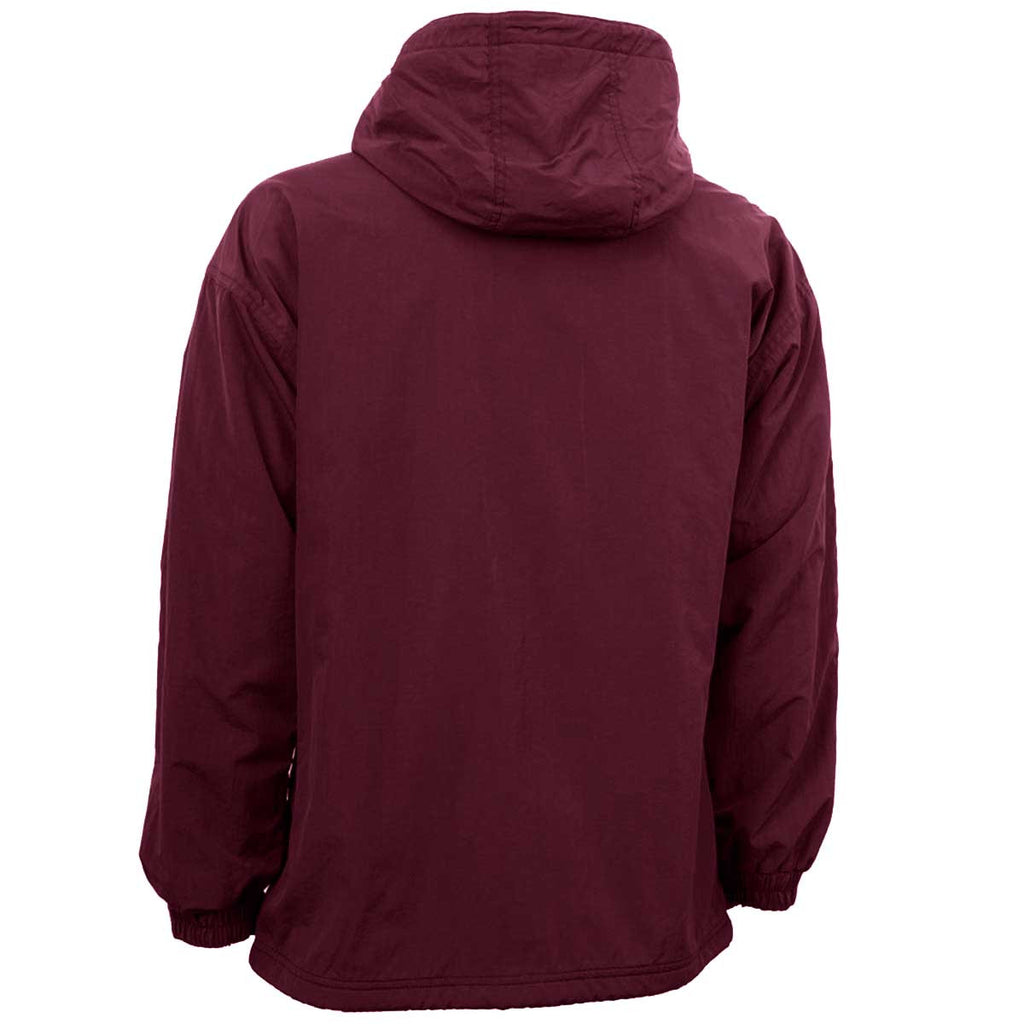 Charles River Men's Maroon Enterprise Jacket