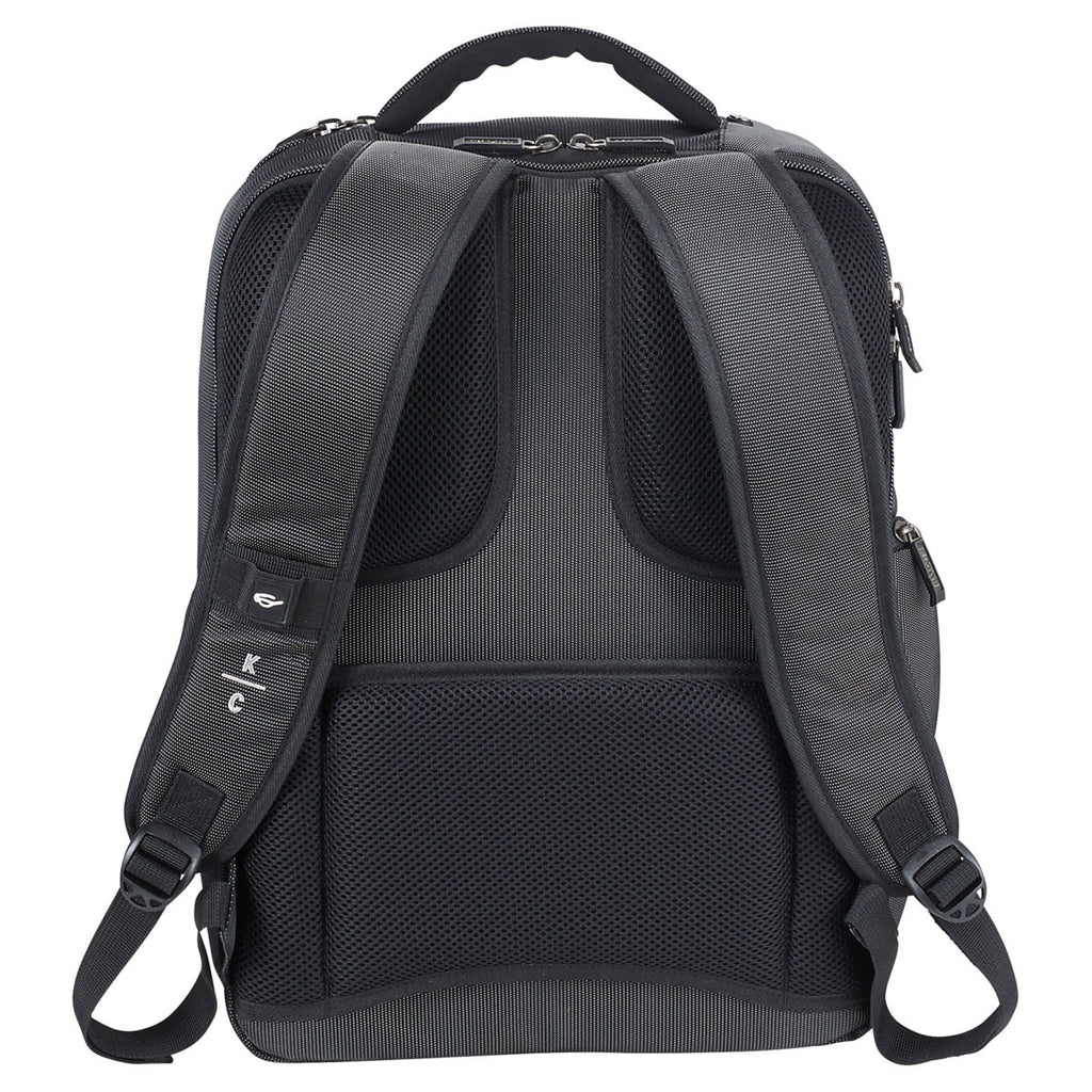Kenneth Cole Charcoal Square Backpack