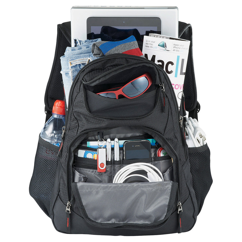 Kenneth Cole Reaction Black Compu - Backpack