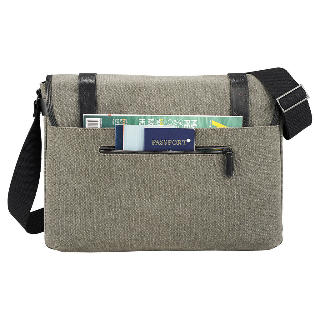 Kenneth Cole Canvas Compu - Messenger
