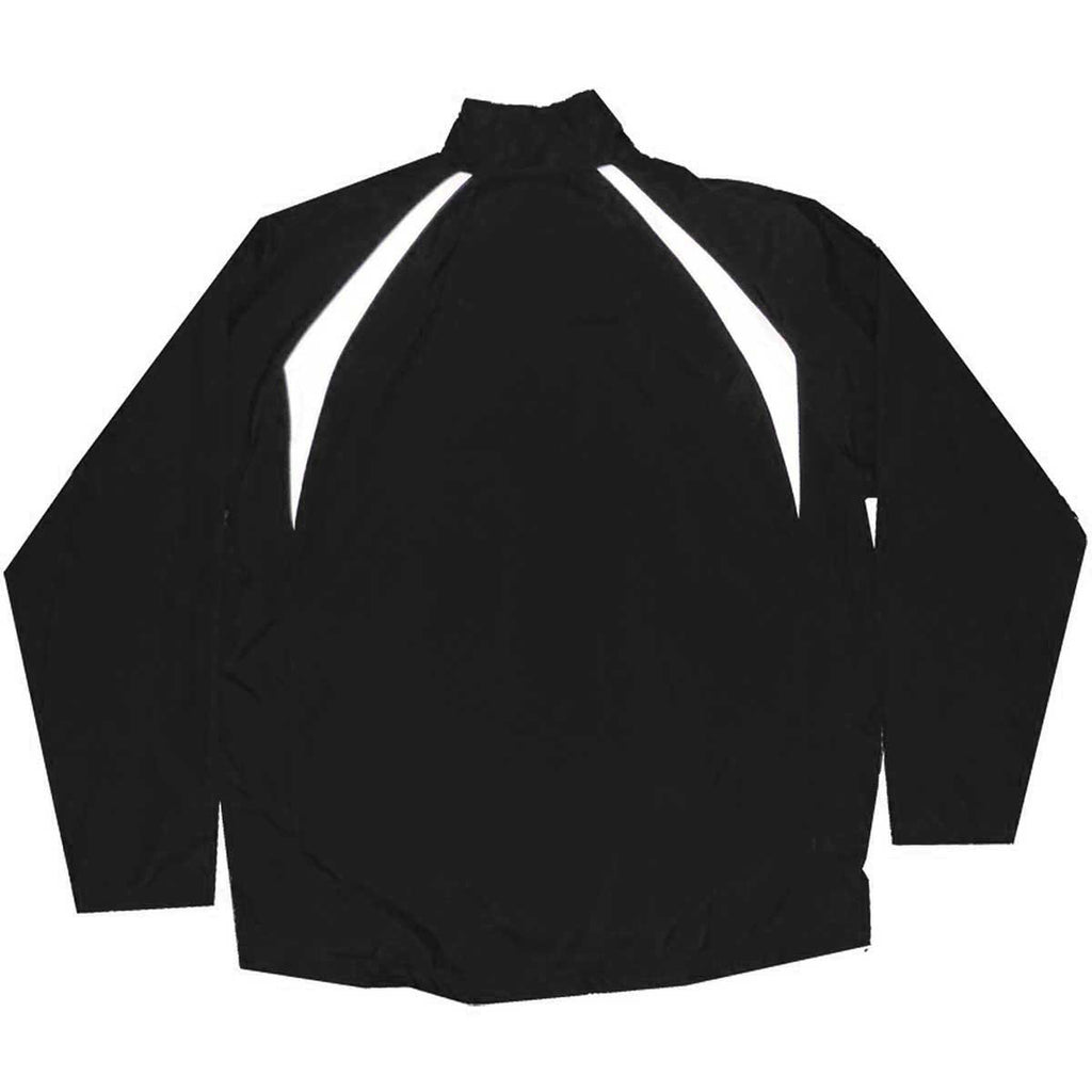 Charles River Men's Black/White Teampro Jacket