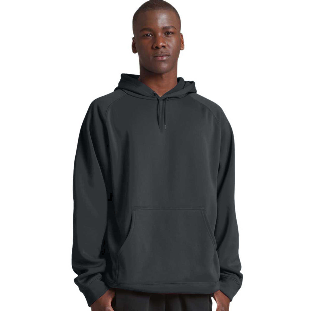 Charles River Men's Black Bonded Polyknit Sweatshirt