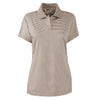 adidas-womens-beige-stripe-polo