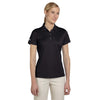 adidas-womens-black-basic-polo