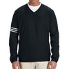 adidas-black-v-neck-wind-shirt