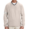 adidas-beige-v-neck-wind-shirt