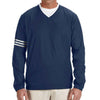 adidas-navy-v-neck-wind-shirt