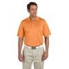 adidas-orange-text-polo