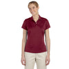 adidas-womens-cardinal-text-polo