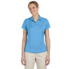 adidas-womens-turquoise-text-polo