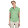 adidas-womens-light-green-text-polo