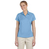 adidas-womens-light-blue-text-polo