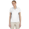 adidas-womens-white-text-polo