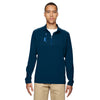 adidas-golf-light-blue-mixed-quarter-zip