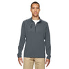adidas-golf-charcoal-mixed-quarter-zip