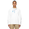 adidas-golf-white-mixed-quarter-zip