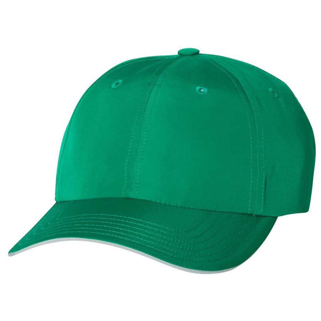 9709e5dafec Adidas Golf Amazon Green Performance Relaxed Poly Cap. ADD YOUR LOGO