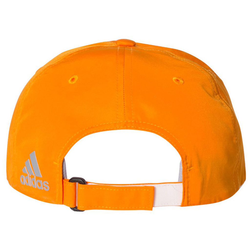 03a4764cad4 Adidas Golf Bright Orange Performance Relaxed Poly Cap. ADD YOUR LOGO