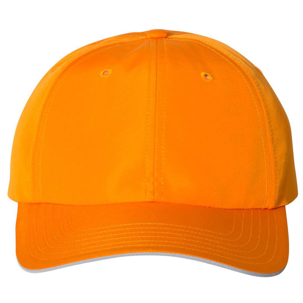 8f1df731515 Adidas Golf Bright Orange Performance Relaxed Poly Cap