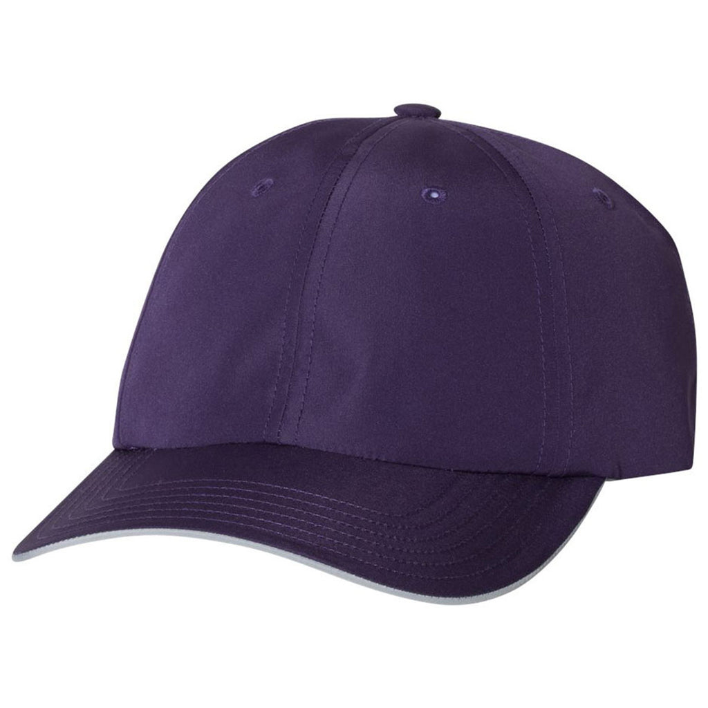 Adidas Golf Purple Performance Relaxed Poly Cap. ADD YOUR LOGO 46ded69420b