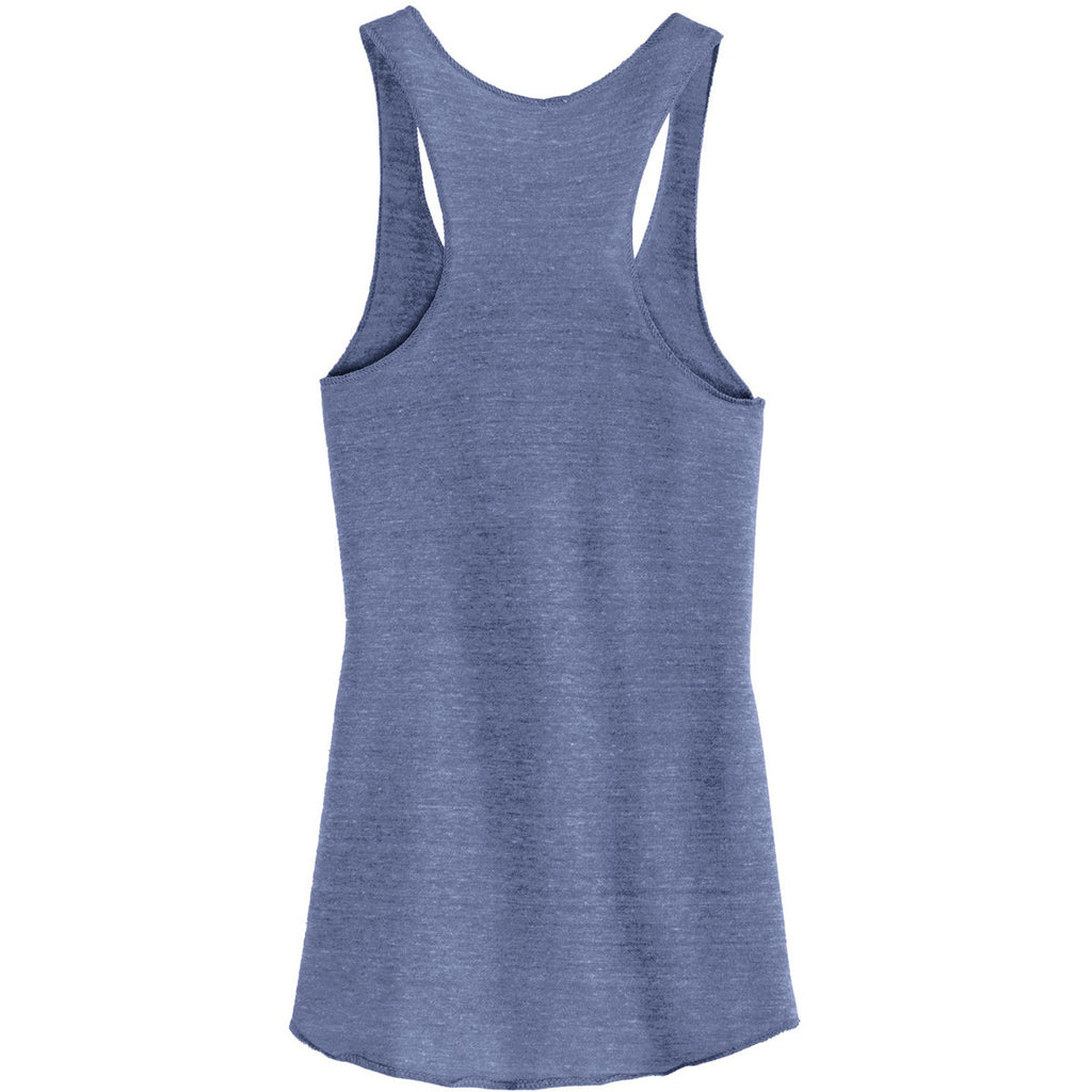 Alternative Women's Pacific Blue Meegs Eco-Jersey Racer Tank