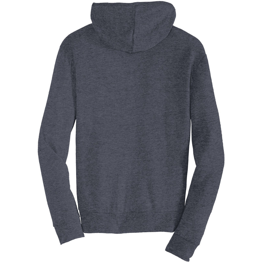 Alternative Men's True Navy Eco-Jersey Zip Hoodie