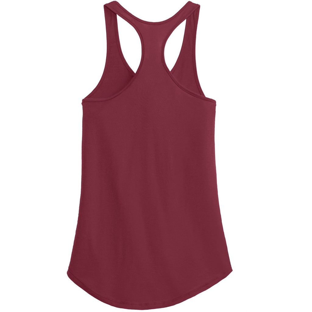 Alternative Women's Redwood Shirttail Satin Jersey Tank