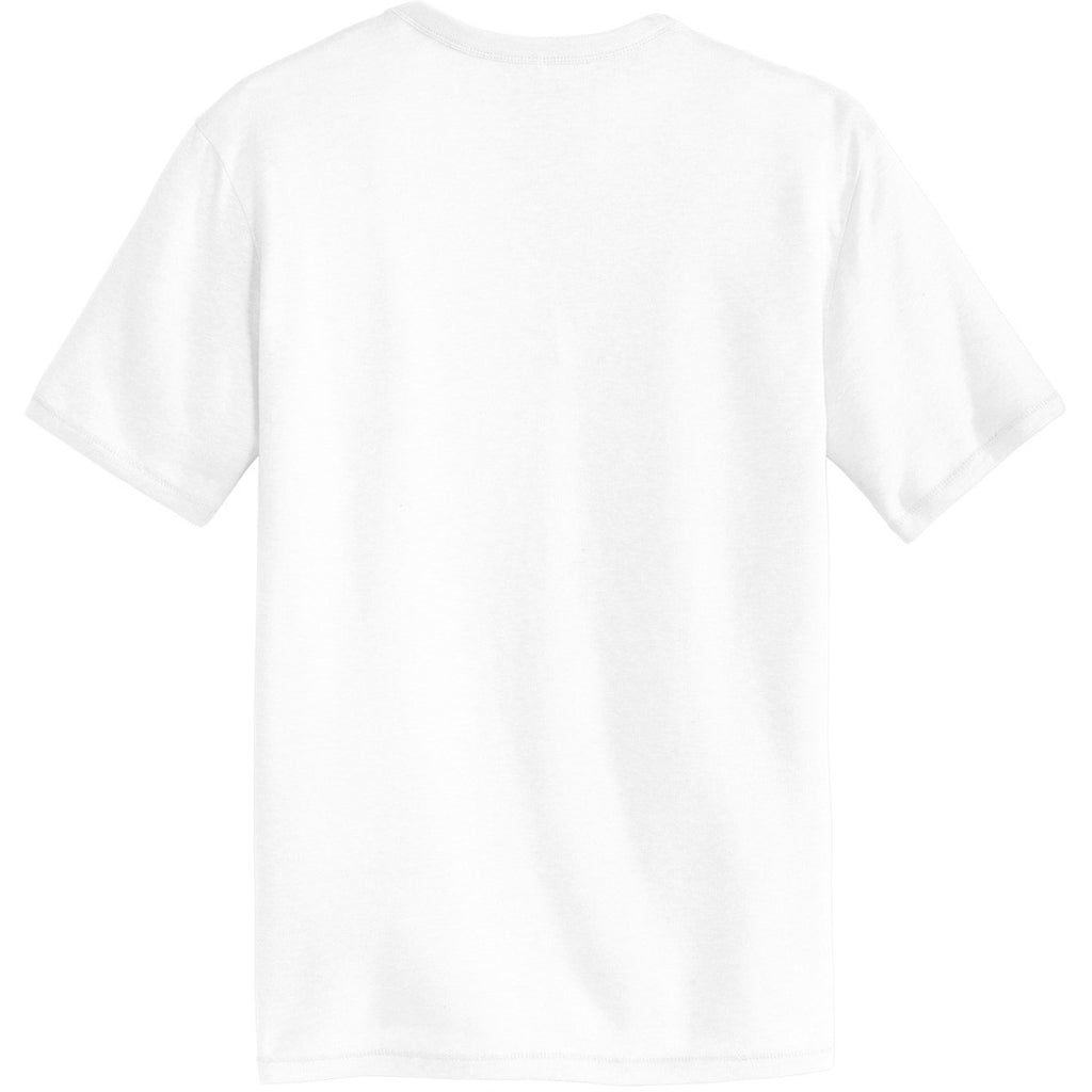 Alternative Men's White The Keeper Vintage 50/50 Tee