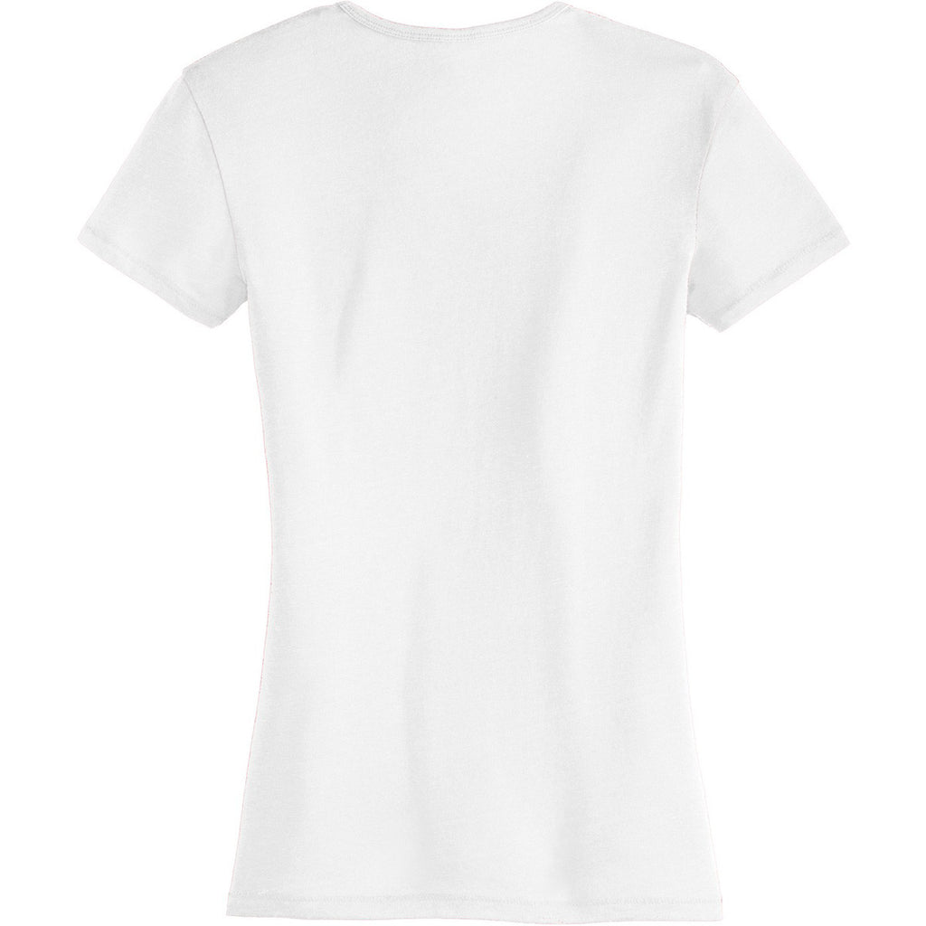 Alternative Women's White The Keepsake Vintage 50/50 Tee