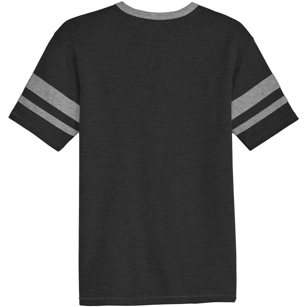 Alternative Men's Black/Smoke Sideline Vintage 50/50 Tee