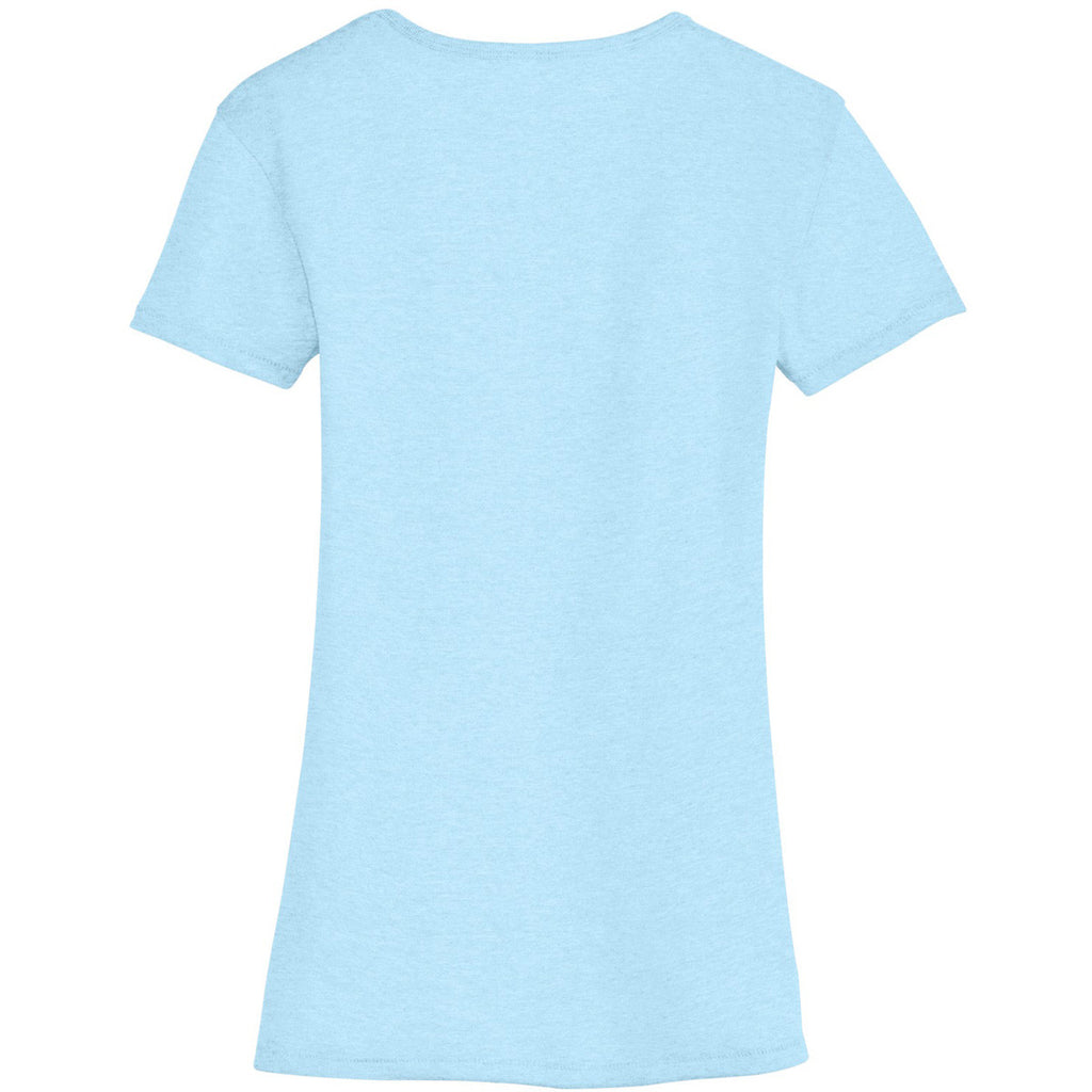 Alternative Women's Blue Sky The Keepsake V-Neck Vintage 50/50 Tee