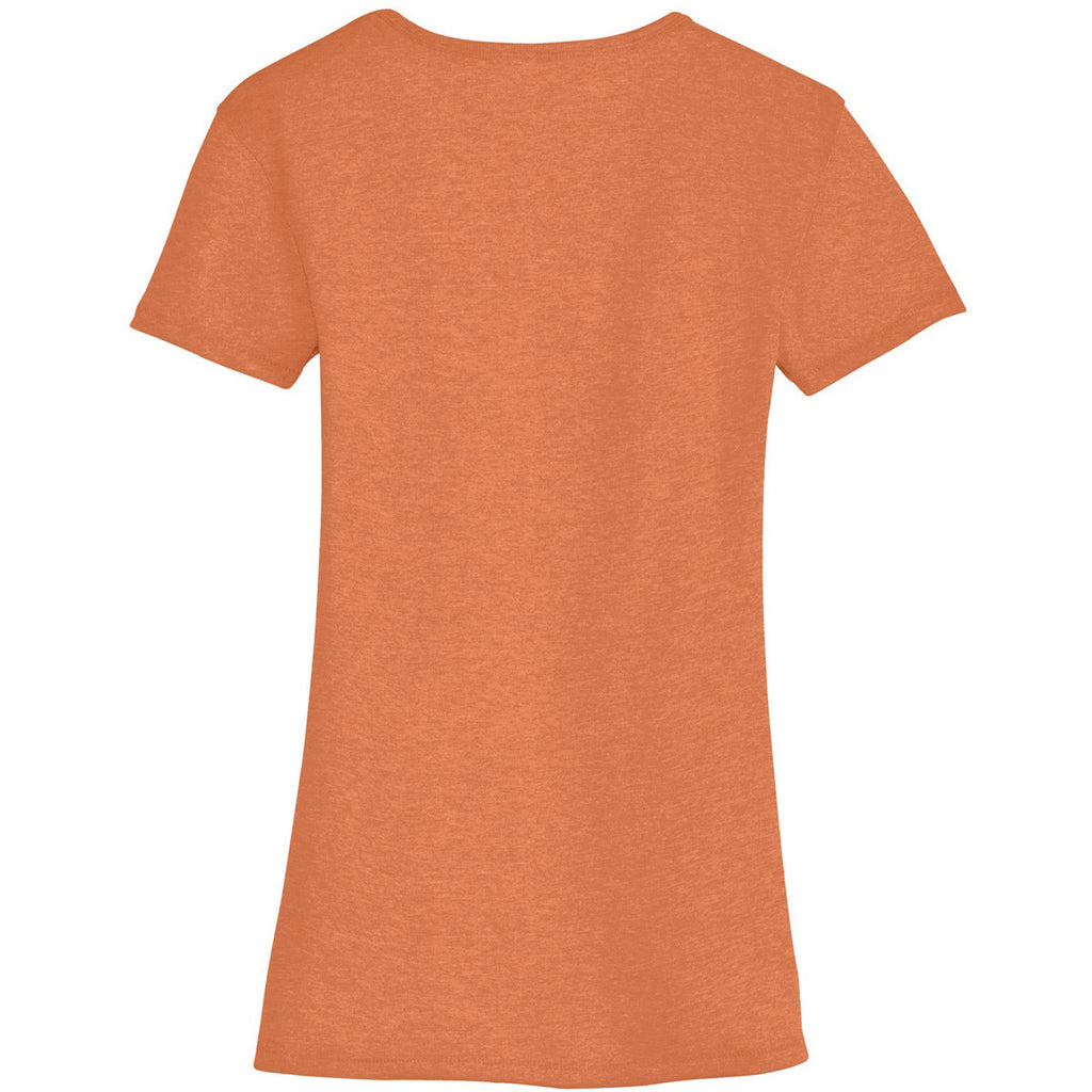 Alternative Women's Southern Orange The Keepsake V-Neck Vintage 50/50 Tee